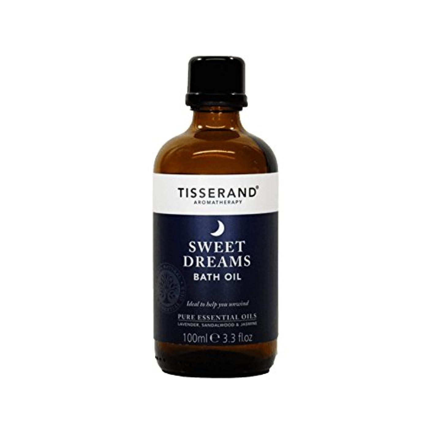 パパ与える相反するTisserand Sweet Dreams Bath Oil 100ml (Pack of 6) - ティスランド甘い夢バスオイルの100ミリリットル (x6) [並行輸入品]
