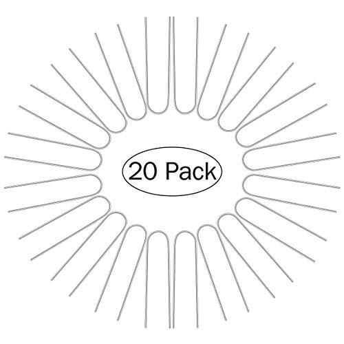 OUNONA 20 St¨¹ck Erdanker Bodenanker Metall Heringe 6 Zoll