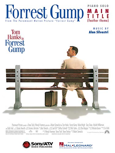 Alan Silvestri: Forrest Gump Feather Theme (Piano). Für Klavier