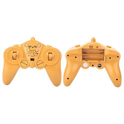 Weikeya Toy de Control Remoto, Producto de plástico/Metal 16x15x8cm Receptor Potencia Baja para el Control Remoto del automóvil