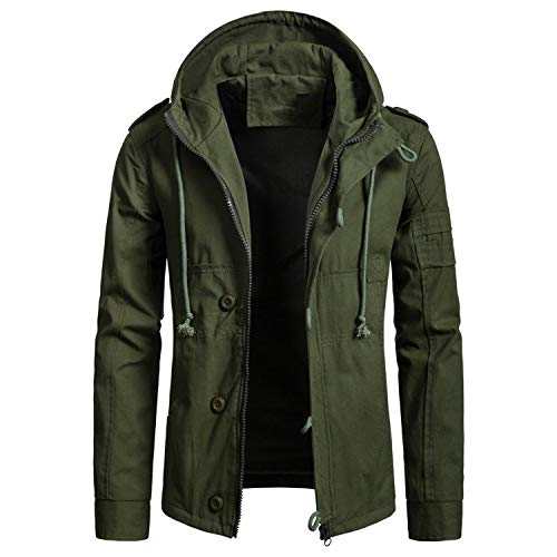 Green Military Jacket Outfit Ideas Mens