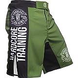 Hardcore Training Recruit Fight Shorts Hombre Pantalones Cortos MMA BJJ Boxeo Grappling...