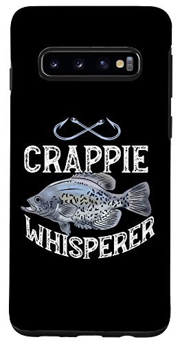 Galaxy S10 Funny Crappie Fishing Graphic Freshwater Fish Angler Gift Case