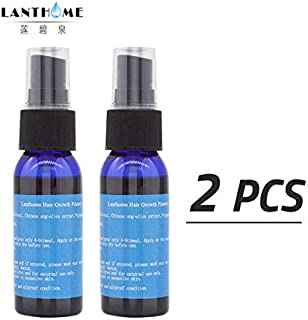 Shreeyas Hair Growth Anti Hair Loss Liquid Spray Dense Hair Fast Sunburst Hair Grow Tonic Serum Baldness Alopecia Keratin Repair Treatmen : 2pcs hair grow