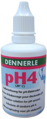 Dennerle pH-Eichlösung pH4 50 ml - Prüflösung für pH-Elektroden