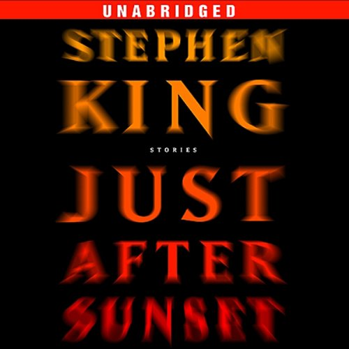 Just After Sunset audiobook cover art