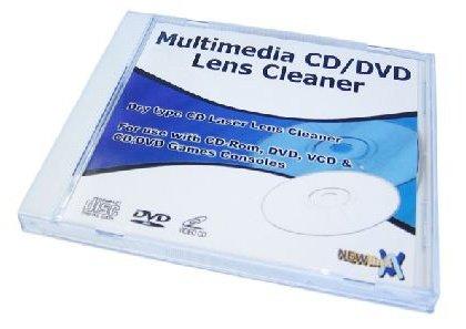 Rhinocables CD DVD lente en seco limpiador adecuado para todas las consolas de juegos Xbox Playstation Nintendo C1309