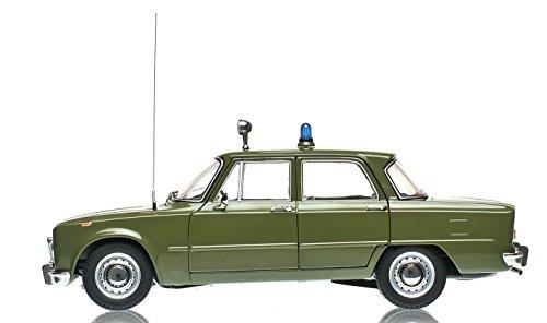 ALFA ROMEO GIULIA SUPER 1600cc CARABINIERI 1970 VERDE 1:18 (Minichamps 183120991)