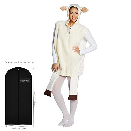 Rubie's NEU Plüsch-Kostüm weißes Schaf, Gr. L-XL