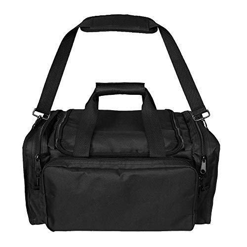 Sac de sport tactique multifonction pour extérieur, équipement militaire, sac à bandoulière, sac de voyage, sac de chasse, tissu Oxford 600D (noir)