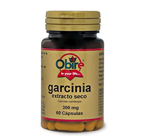 Obire   Garcinia Cambogia 300 mg   Extracto Seco 60 Cápsulas