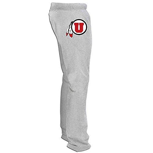 BLTB Utah Utes 1 Logo Men's Sweatpants Ash