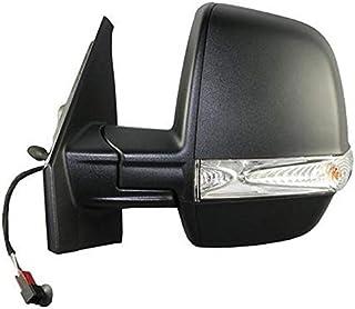 7445610332388 Derb Specchio Specchietto Retrovisore Sx Sinistro Calotta Da Verniciare - 5 Pin Elettrico - Termico Lato Guida