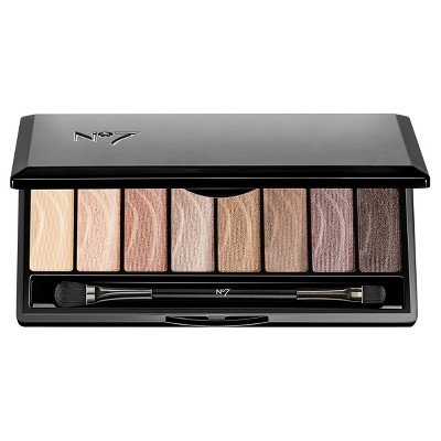 No7 Stay 5 ☆ popular Perfect Eyeshadow - Palette Excellent 8x.03oz Nude