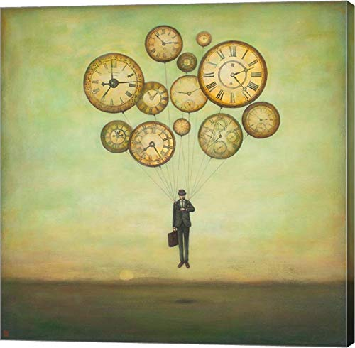 Waiting for Time to Fly by Duy Huynh Canvas Art Wall Picture, Gallery Wrap, 12 x 12 inches
