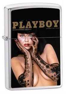 Zippo Playboy Dec 1988