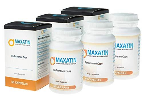 MAXATIN-Cure (3x) aumenta la cantidad de semen durante la eyaculación,...