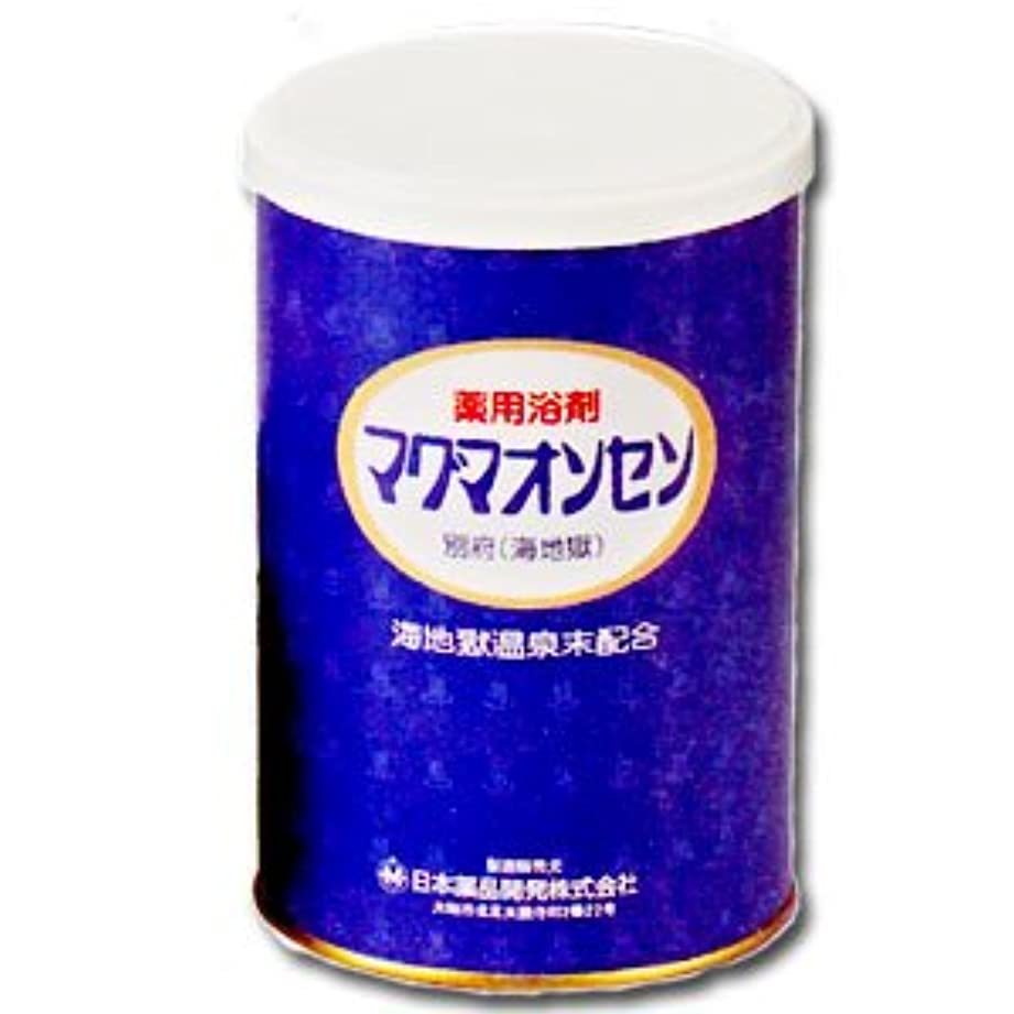 笑い巡礼者ニンニク薬用入浴剤 マグマオンセン(医薬部外品)500g
