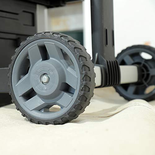 Stanley FatMax Rollende Werkstatt aus Metall-Kunststoff 1-95-622 – Werkzeugwagen leer – Vielseitige Werkzeugbox für Kleinteile und große Werkzeuge - 12