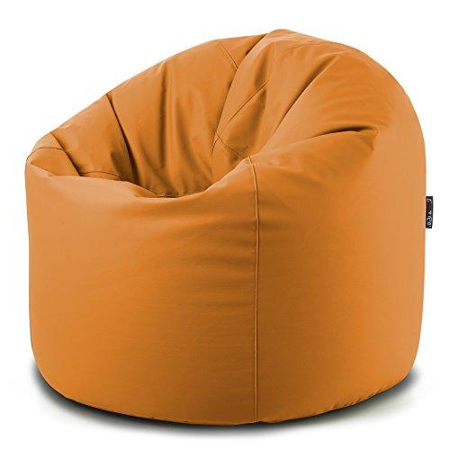 CAB Pouf Pouf Pouf Pouf XXL en cuir synthétique - Dimensions : 100 x 130 cm - Rembourré de billes en polystyrène - Souple et rapide (fermeture Éclair) - Disponible en 8 couleurs