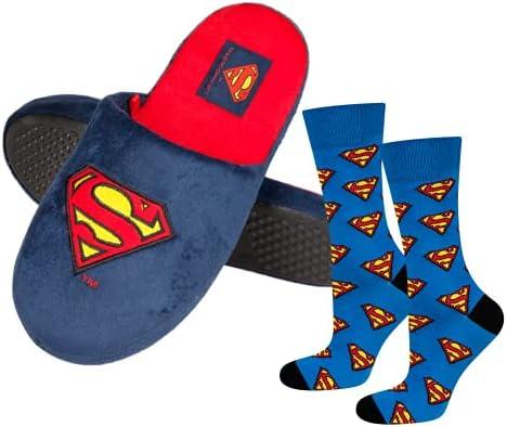 soxo Superman Pantoufles Homme…