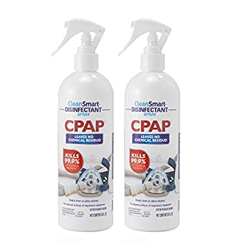 CleanSmart CPAP Disinfectant Spray 16 oz  Pack of 2