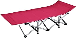WJMLS Camping lit for adultes, Cadre de lit pliant portable, pliant Recliner Guest, Lit, Bureau Déjeuner Lit Assisted Lit ...