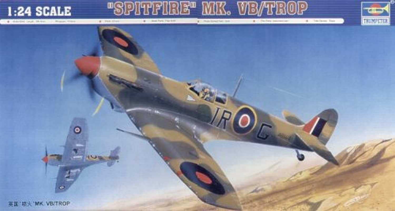 envío rápido en todo el mundo Trumpeter 2412 Spitfire marca VB TROP - Avioneta a escala escala escala 1 24  hermoso