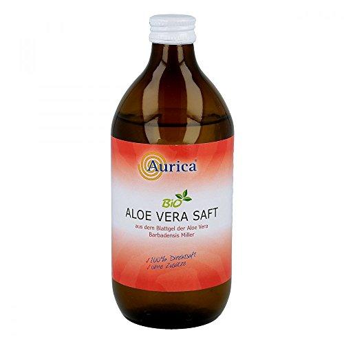 Aurica Aloe Vera Saft bio 100% Direktsaft, 500 ml Lösung