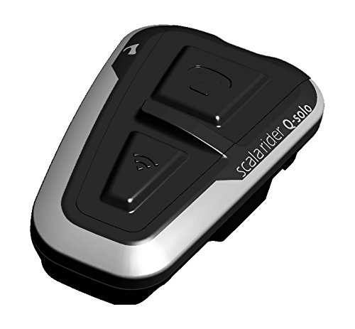 Cardo Motorcycle Scala Q-Solo Bluetooth Headset,...
