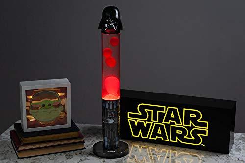 Robe Factory LLC Star Wars Darth Vader 18-Inch 3D Top Motion Lamp, Mood Light