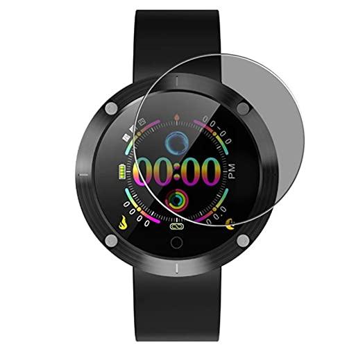 Vaxson Anti Spy Schutzfolie, kompatibel mit OUKITEL W5 Smartwatch smart watch, Displayschutzfolie Privatsphäre Schützen [nicht Panzerglas]