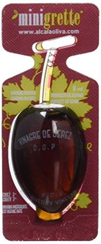 Minioliva Vinagre de Jerez D.O - Paquete de 150 x 8 ml - Total: 1200 ml