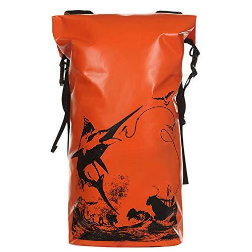 Phy 20L Wasserdichter Packsack Mit Verstellbarem Schultergurt Für Kajak-Bootsausflug Kanu/Angeln/Rafting/Schwimmen Orange