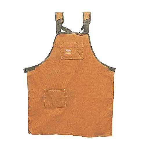 Bucket Boss - Canvas SuperShop Apron, Aprons & Vests (80300), Brown