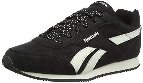 Reebok Royal CLJOG 2, Zapatillas de Trail Running para Niños, Multicolor (Black/Chalk 000), 35 EU