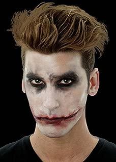 The Joker Style Slashed Mouth Prosthetic Scar