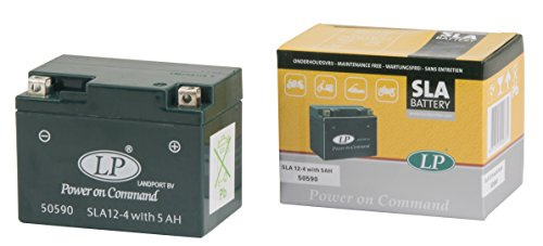 Landport MB SLA 12-4S Motorcycle Battery DIN 50950, Grün (Preis inkl. EUR 7,50 Pfand)
