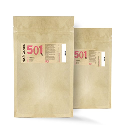 Naissance - Ácido Cítrico, Ingrediente Natural 100% Puro, 2 x 200g