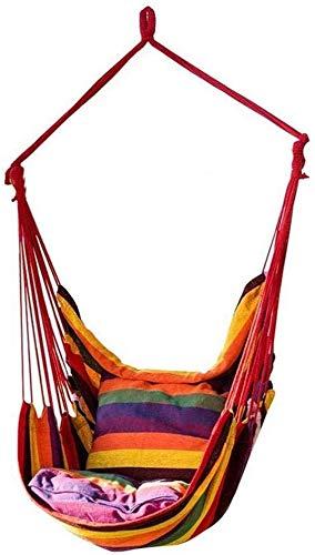 Silla de hamaca Silla de jardín Silla de swing de jardín Almohada para exteriores Silla de columpio al aire libre,Multi colored