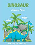 Dinosaur Coloring Book For Kids 3-8 Year Old: Big Activity Book for Kids, Dinosaur sudoku book for kids Toddlers, Preschoolers. Realistic Dinosaur Designs Childrens Spinosaurus, Allosaurus, Diplodocus