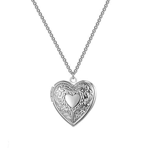 Philip Jones Silver Heart Locket