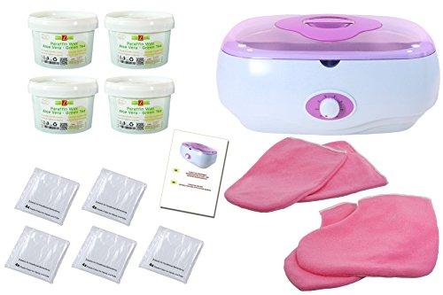 Set: parafina baño (Cera) XL, con accesorios, manos, pies calentador +,...