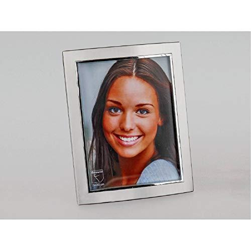 formano Bilderrahmen Fotorahmen Style für 15x20cm Silber matt + glänzend Metall