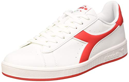 Diadora - Sport Shoes Game P for Man and Woman US 9.5 White -Red