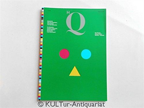 HQ - High Quality. Zeitschrift über das Gestalten, das Drucken und das Gedruckte. Heft 9/1987.
