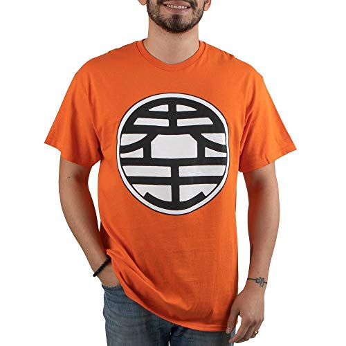 Dragon Ball Z King Kai's Kanji Short-Sleeve T-Shirt