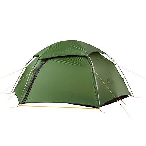 Playa Nube Peak Tent Ultralight Dos Hombre Camping Senderismo al Aire Libre (Color : Green)