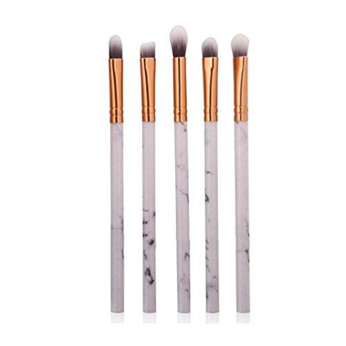 kingko® 5 Pcs Multifonctionnel Maquillage Brosse Concealer Fard À Paupières Brush Set Pinceau Maquillage Outil (B)