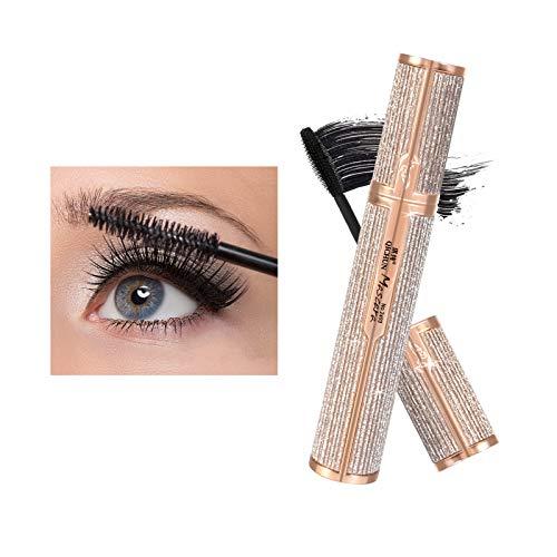 Subsky Mascara 4D Femmes Imperméable Puissant Long Curling Extension des Cils Maquillage Durable Mascara Plus Epais Résistant aux Taches Noir